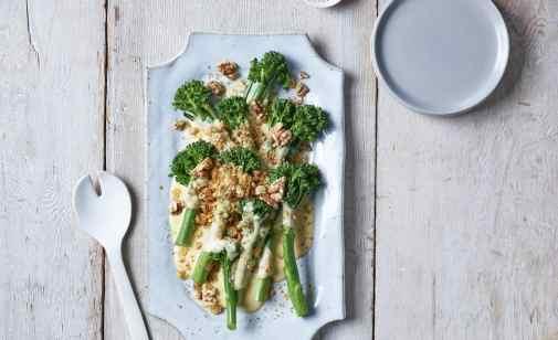 Broccolini Au Gratin