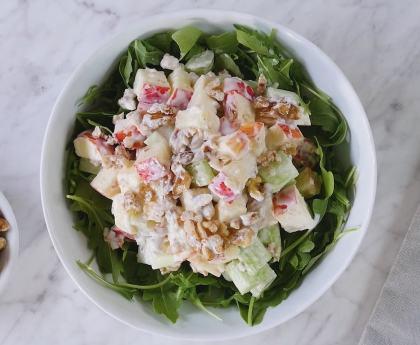 Refreshing Waldorf Salad