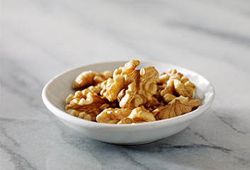 Walnuts in a Dish