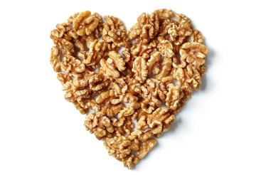 heart shaped walnuts