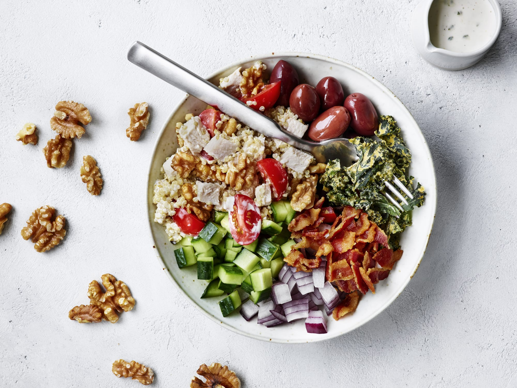 Walnut Ranch Quinoa Chicken Salad Bowl