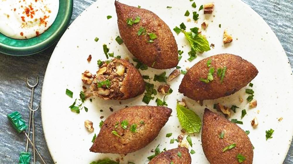 Turkish Style Kibbeh Meatballs