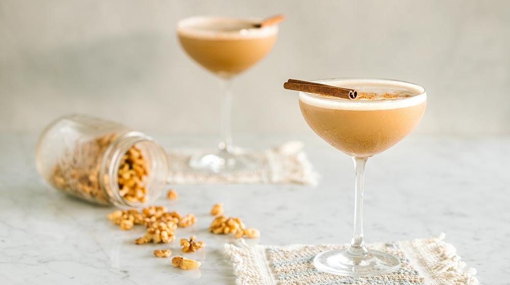 Walnut Horchata Martini