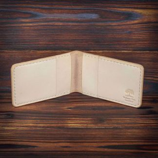 Bangor handmade leather wallet