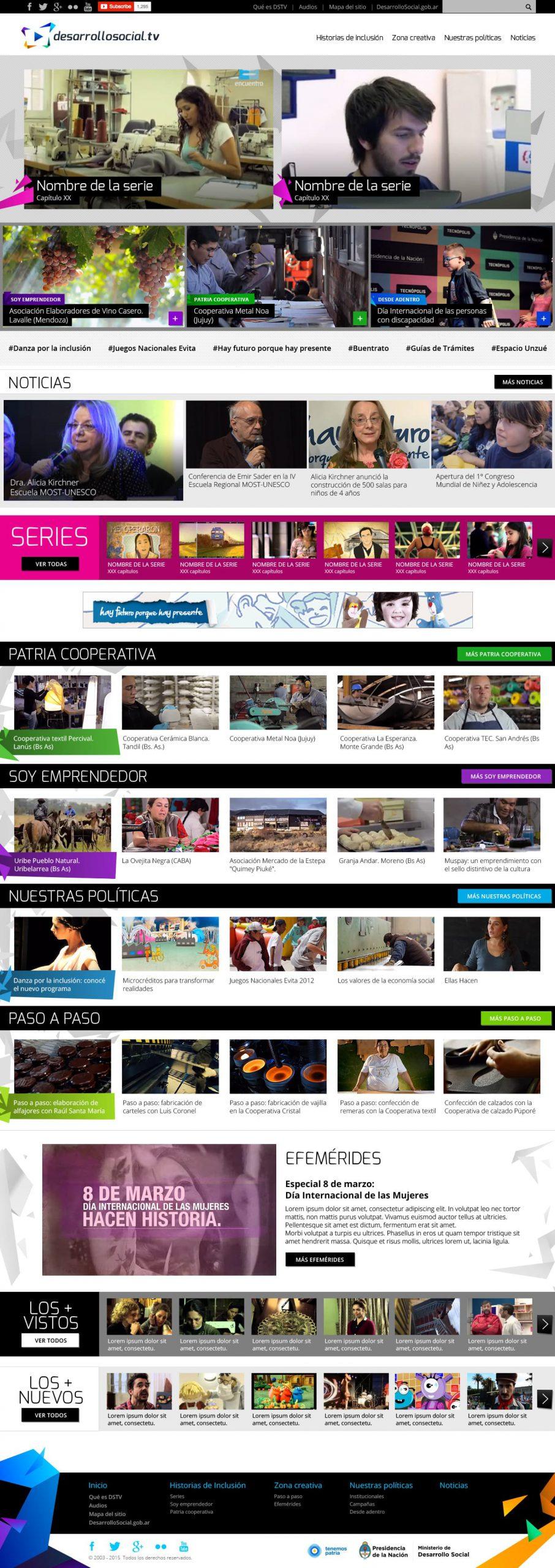 Desarrollo Social TV - Home