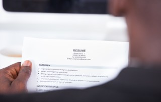 lying resume