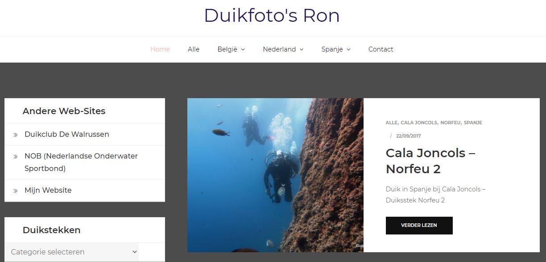 Duikfoto's Ron