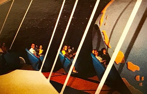 Walt Disney World Tomorrowland If You Had Wings Interior