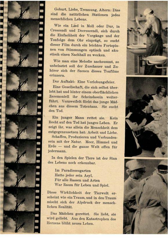 Das Lied vom Leben - Filmprogramm, S. 4