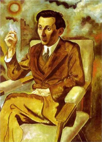 Walter Mehring gemalt von George Grosz (1925)