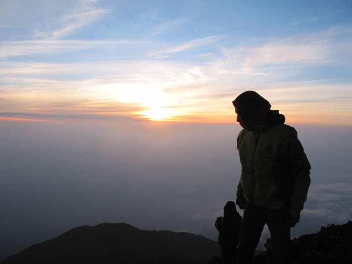 Sunrise Gunung Slamet 2