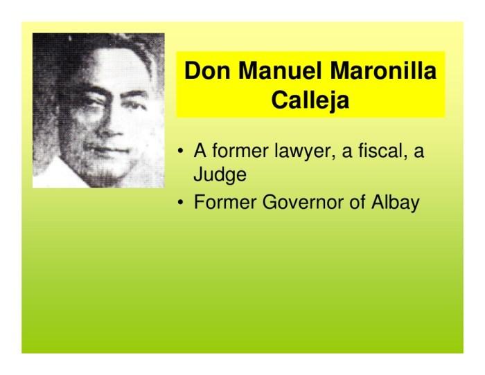 Don Manuel Maronilla Calleja