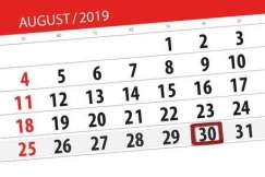AUGUST 30