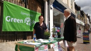 Waltham Abbey Greens street surgery stall 06/06/2015