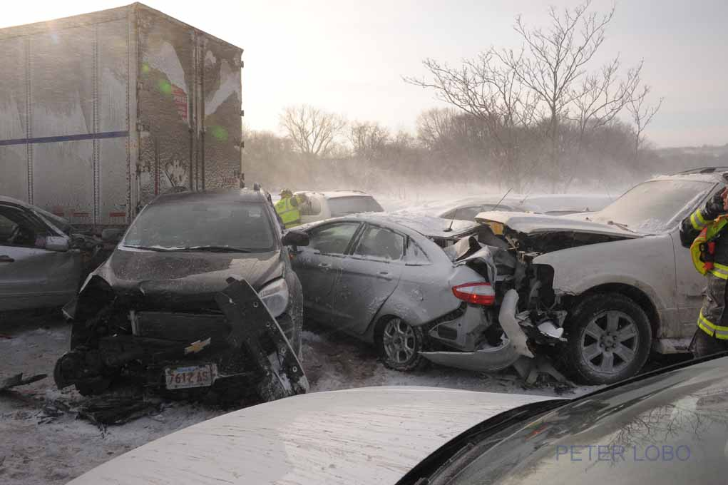 Gallery: 20-Car Crash on Feb  15, 2015 – Waltham Fire IAFF Local 866