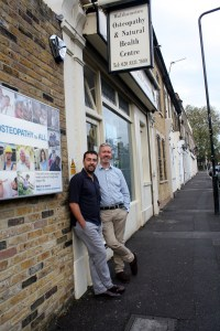 Iain Chapman and Stephen Moore – The Osteopaths