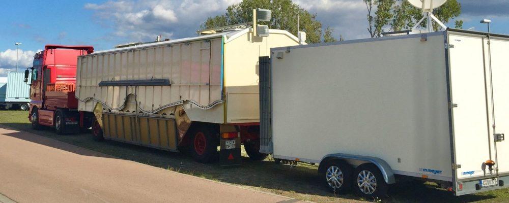 Walthers Waffelbäckerei - Transportbild