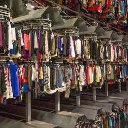 Fast fashion clothing is frequently made in facilities with unsafe working conditions.