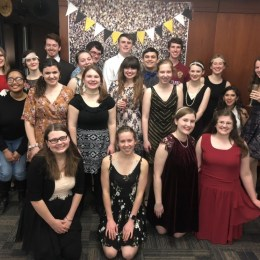 Everyone had a blast at the Roaring Twenties Dance hosted by E.T.H.E.L.S!