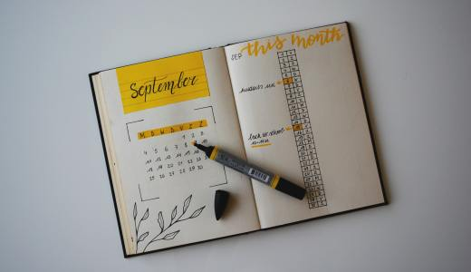 Bullet journaling is growing in popularity due to its cre- ative individualism where students can design their plan- ners to what best fits them.