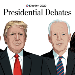 Both presidential and vice presidential candidates have now participated in live debates.