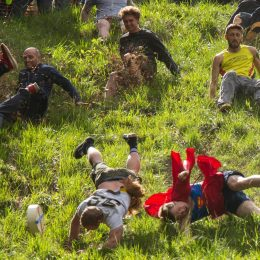 Anything's a Sport: A look at the annual Cooper's Hill Cheese-Rolling Festival.