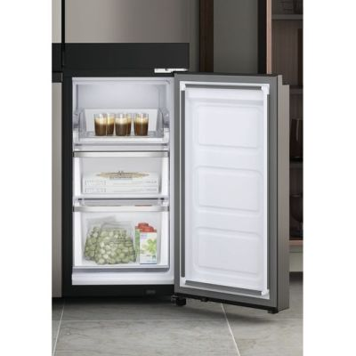 Hotpoint HQ9U1BL Active 4 door s/side American Fridge Freezer