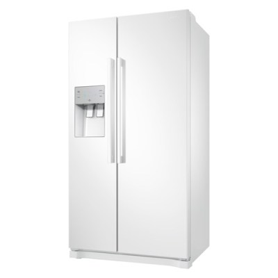 SAMSUNG RS50N3513WW/EU American Fridge Freezer White