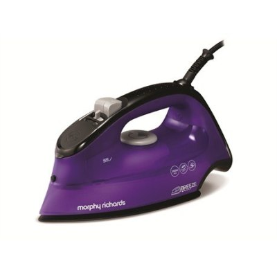 MORPHY RICHARDS 300253 Breeze Steam Spray Iron, Purple