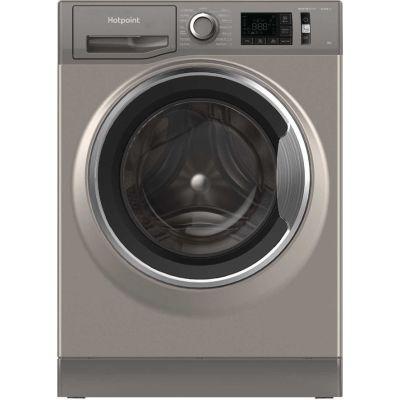 HOTPOINT NM11945GCAUKN 9kg 1400 Spin Activecare  Washing Machine, Graphite