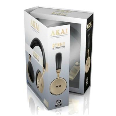 Akai A58044C Dynmx Bluetooth Headphones, Chapagne