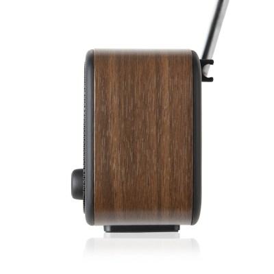 VQ Dexter Portable DAB/FM Radio in Walnut