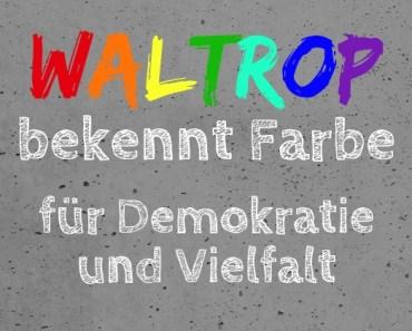 Waltrop bekennt Farbe