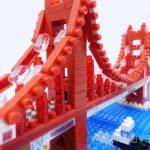 ナノブロック新作 「ゴールデンゲートブリッジ」は赤い曲線美が魅力的