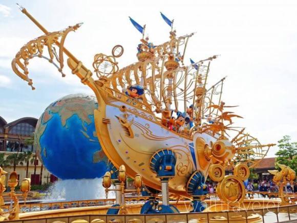 東京ディズニーシー15周年 ウィング・オブ・ウィッシュ号
