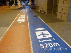 成田空港第3ターミナルへの行き方!駐車場から徒歩で移動してみた!