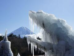 西湖樹氷まつり2017の混雑・期間・アクセスは?幻想的な氷の祭典!