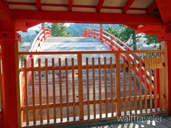 厳島神社 反橋 宮島