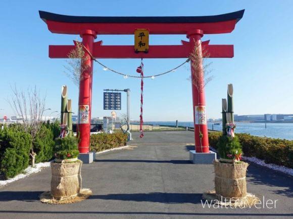 羽田空港 大鳥居 穴守稲荷神社