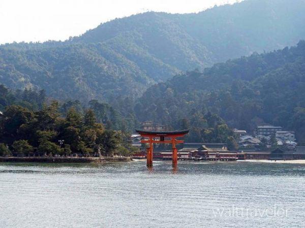 広島日帰り旅行 厳島神社 大鳥居 宮島