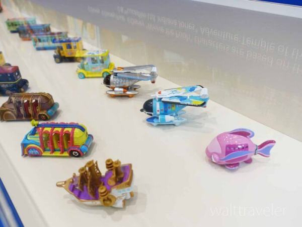 東京ディズニーリゾートビークルコレクション展 トミカ ディズニービークルコレクション 東京ディズニーランド 東京ディズニーシー