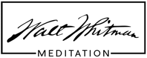 Walt Whitman Meditiation Logo
