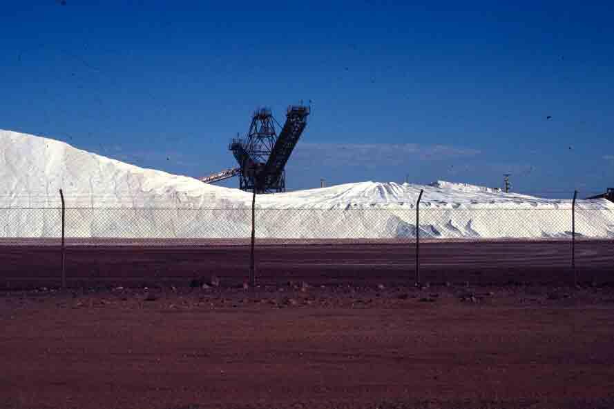Sea salt, Port Hedland