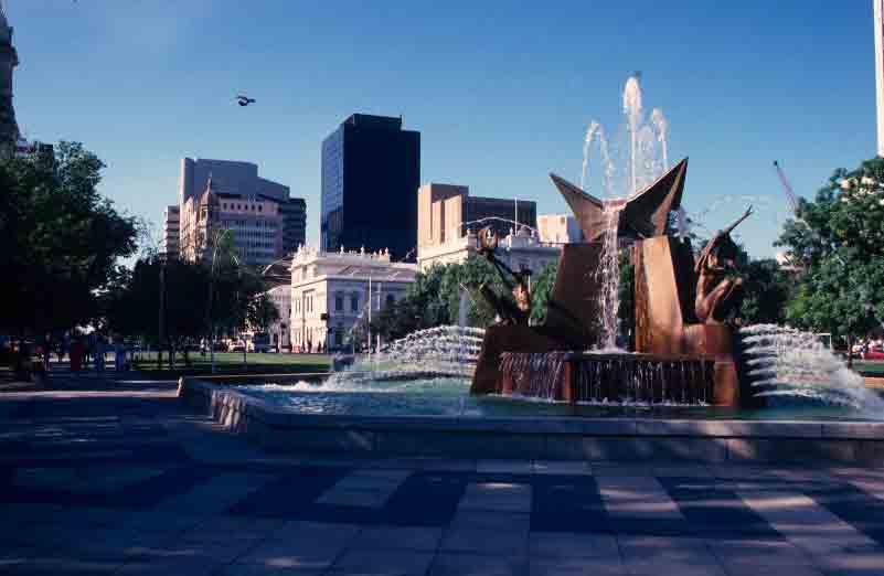 Adelaide's Victoria Square