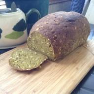Pan integral de linaza