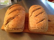 Pan integral con semillas de linaza
