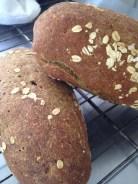Pan cuatro harinas libre de trigo