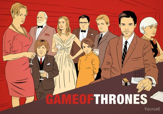 Game of Thrones MM Game of Thrones Reimagined as Other TV Shows