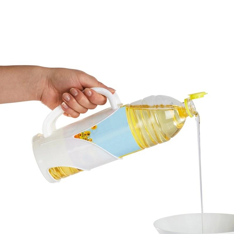 support pour bouteille d huile