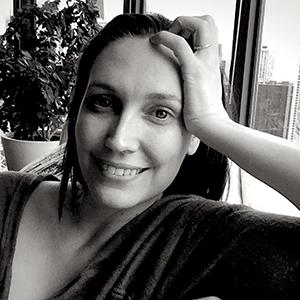 Headshot of artist Andrea Carlson